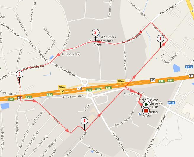 5km du Decathlon