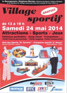 Village sportif Ans & Défis 2014