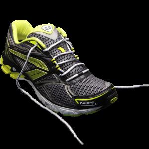 Laçage chaussures de running protéger le pied - coup de pied