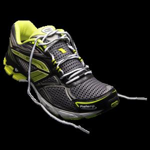 Laçage chaussure de running pied large