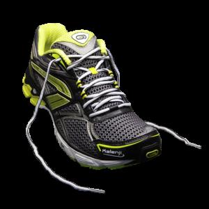 laçage chaussure de course à pied - pied étroit - talon ne glisse pas