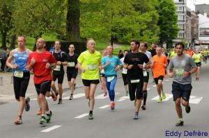 15 km de Liège métropole 2015 - Olivier Hemmer & Alexis Dor