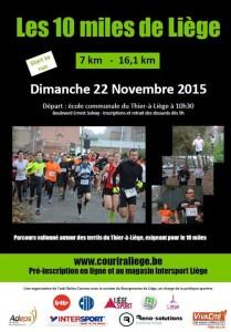 10 Miles de Liège 2015